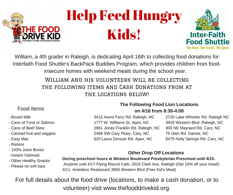 Copy of Help Feed Hungry Kids!